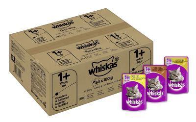 Whiskas 1+ Geflügelauswahl Tierfutter günstig online kaufen – Der große Schnäppchen Guide