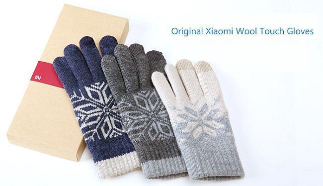 Xiaomi Handschuhe (touchscreenfähig) ab 10,54€