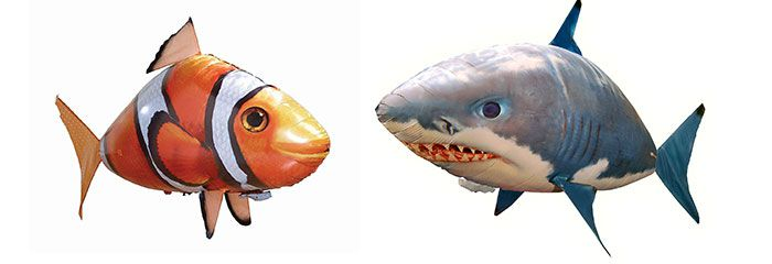 airwsimmers nemo CRAZY! Ferngesteuerter Zeppelin Nemo & Hai ab 14,48€