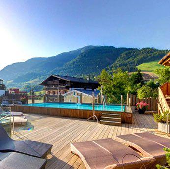 ÜN im Salzburger Land im 5* Luxushotel Alpine Palace inkl. Frühstück, Gästekarte & Spa ab 88€ p.P.