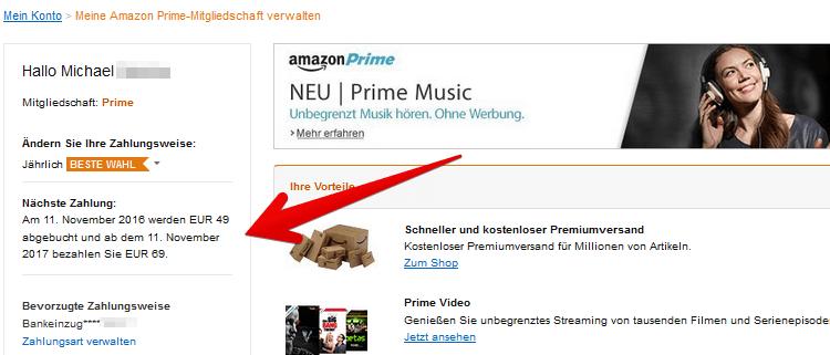 ama prime mitglied Amazon Prime wird ab Februar 20€ teurer   auch Studenten zahlen dann 10€ mehr