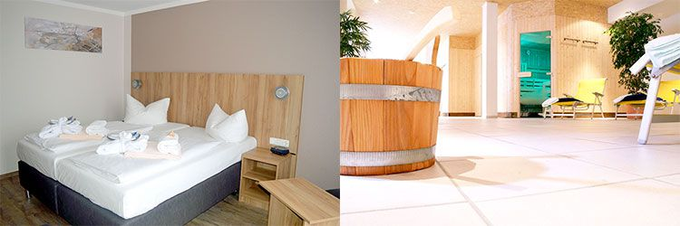aqua zimmer 2 ÜN in Osthessen inkl. Halbpension, Wellness & Massage ab 105€