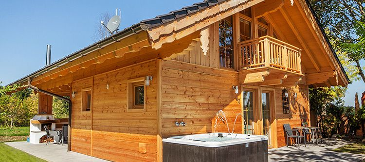 bayern chalet te 2 ÜN im eigenen Luxus Ferienhaus im Berchtesgadener Land inkl. Frühstück, Brotzeit & Wellness ab 299€ p.P.