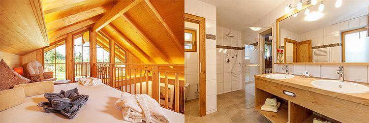 bayern chalet zimmer 2 ÜN im eigenen Luxus Ferienhaus im Berchtesgadener Land inkl. Frühstück, Brotzeit & Wellness ab 299€ p.P.