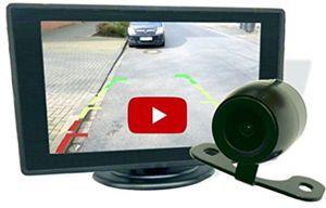 BerryKing Rückfahrkamera   Einparkhilfe inkl. 4,3 Monitor für 29,90€ (38€)