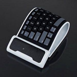 Elastische & Wasserabweisende Bluetoothtastatur für 7,88€