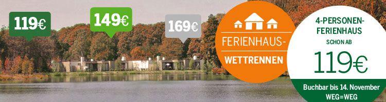 center parcs t Center Parcs Ferienhaus Wettrennen z.B. 119€ für 4 Personen & 4 Nächte