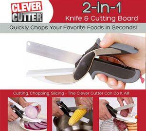 2in1 Messer (Messer + Schneidbrett) für 4,46€