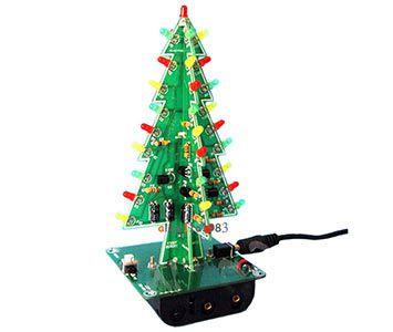 diy tree th DIY LED Weihnachtsbaum im Kleinformat für 3,72€