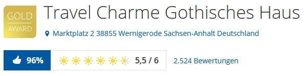 2 3 ÜN in Wernigerode in 4,5* Hotel inkl. Frühstück, Dinner & Wellness ab 119€ p.P.