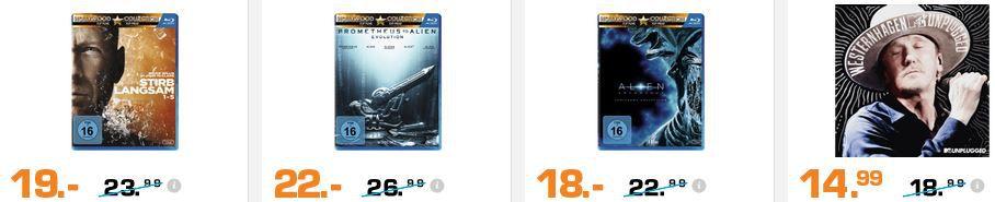 günstige Filme bei Saturn 3DS XL Blau & Super Mario Maker für 139€ und mehr günstige Angebote im Saturn Weekend Sale
