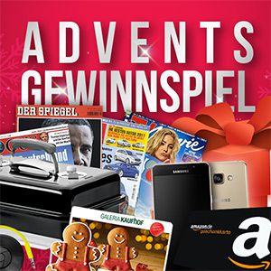 1. Advents Gewinnspiel: Wir beschenken euch mit tollen Preisen