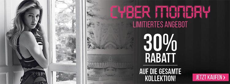 hunke cyber Hunkemöller Cyber Monday Sale mit 30% auf Alles