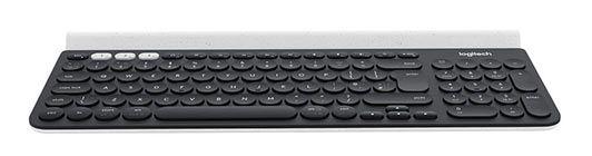 Logitech K780   Schnurlose Tastatur mit Halterung für Handys & Pads für 35€ (statt 55€)