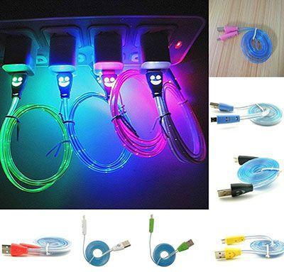 LED USB Kabel (zu Micro USB) für 1€