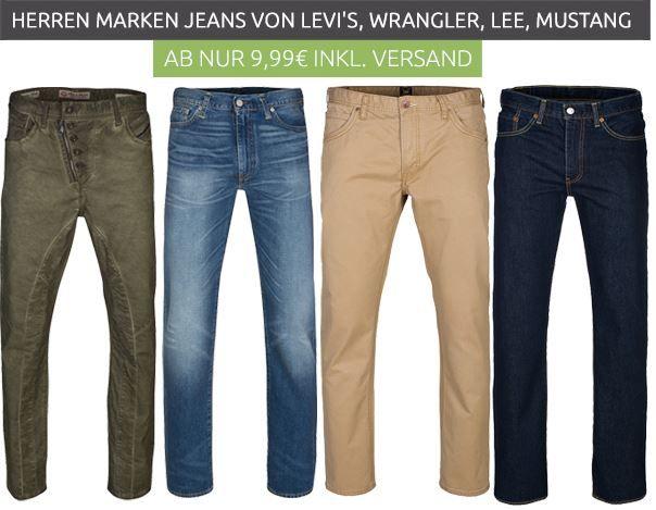 neuer Jeans Sale Jeans & Hosen Ausverkauf @Outlet46: Wrangler Hosen schon ab 9,99€