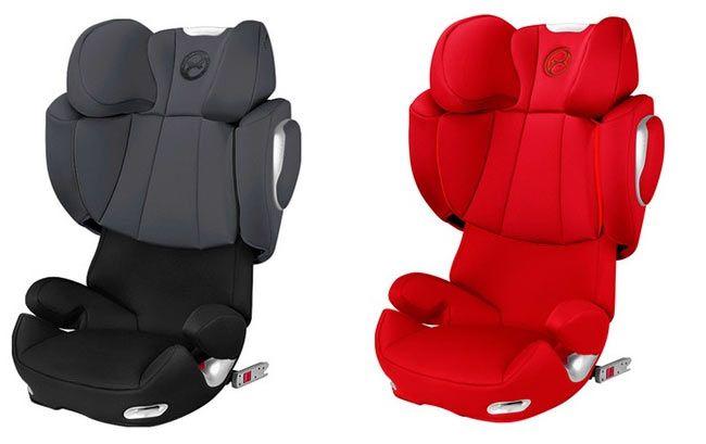 q2fix Kindersitz Cybex Solution Q2 fix in grau oder rot je 151,95€ (statt 185€)