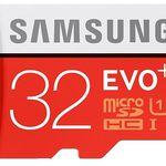 Dreierpack Samsung microSDHC EVO Plus (32GB) für 15,98€ (statt 21€)