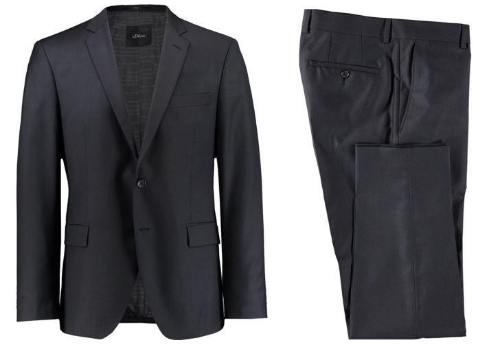 s.Oliver Herren Anzug regular Fit für nur 99€ (statt 135€)