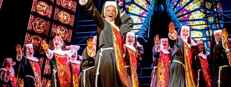 sister tease Sister Act Musical in Berlin inkl. Übernachtung im 5*Hotel + Frühstück & Spa ab 115€ p.P.