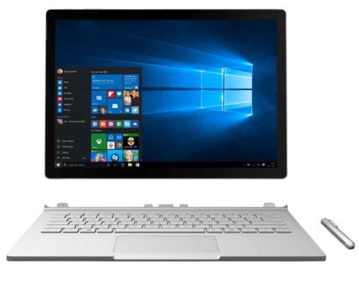 Microsoft Surface Book i5/256GB SSD für 1.149€ (statt 1.499€)