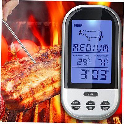 TS BN52 Digital Funkthermometer für euer BBQ für ~ 11€