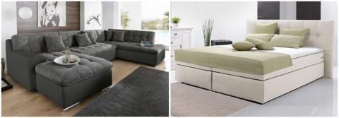 20% Rabatt auf Möbel ab 100€ + kostenloser Versand ab 75€ bei Neckermann