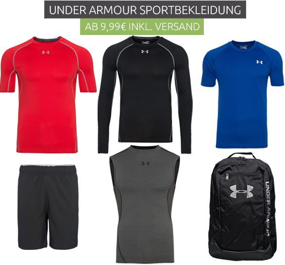 Under Armour Sport Zubehör ab 9,99€ @ Outlet46