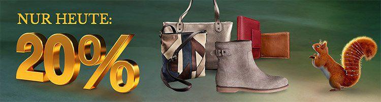 20% Rabatt auf Handtaschen, Schuhe & Kleinlederwaren bei Galeria Kaufhof + 10% Gutschein