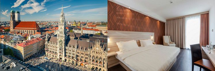 1   2 ÜN im guten 3* Hotel in Schwabing, inkl. Frühstück, Verzehrgutschein und 4 Gänge Menü im Schuhbecks Orlando ab 139€ p.P.