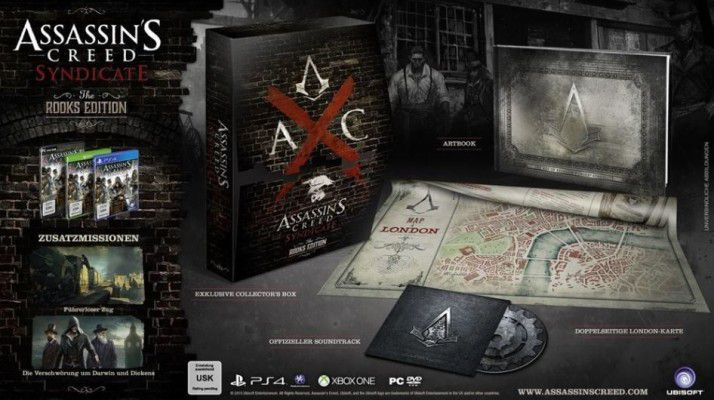 Assassins Creed: Syndicate   The Rooks Edition für Xbox One für 16,50€