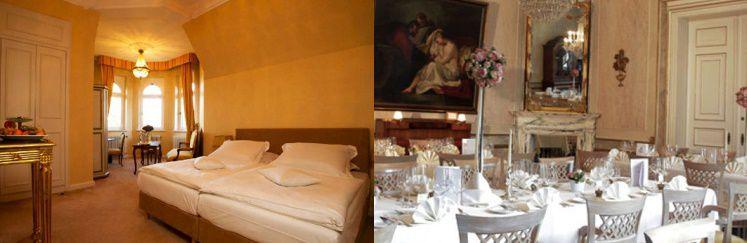 115 2 ÜN im 4* Schlosshotel inkl. Frühstück, 3 Gänge Dinner und 1 Flasche Wein ab 129€ p.P.