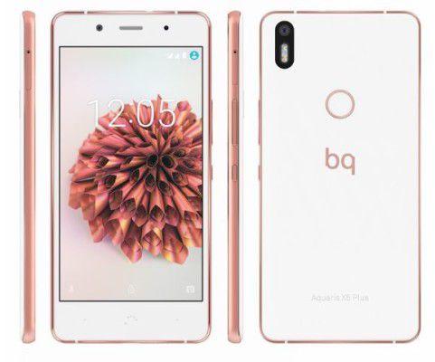 BQ Aquaris X5 Plus   5 Zoll Full HD Smartphone schwarz mit 32GB für 219€ (statt 269€)