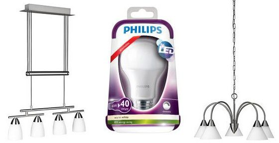 125 Philips Lampen Sale bei vente privee   z.B. Philips Massive Pendelleuchte Fahro für 55,90€ (statt 70€)