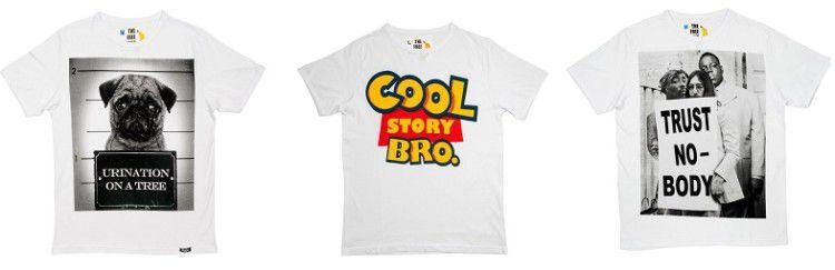 T Shirts mit verschiedenen Motiven ab 9,99€