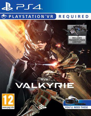 EVE: Valkyrie VR [PS4] für 39,17€ (statt 48€)