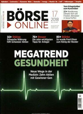 51 Ausgaben Börse Online für 229,50€ + 100€ Verrechnungsscheck + 6€ Sofort Rabatt