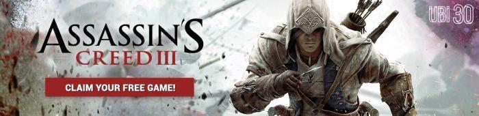 Assassins Creed 3 im Ubisoft Club gratis