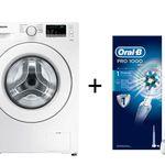 Samsung WW80J34D0KW Waschmaschine + Oral-B Pro 1000 eZahnbürste statt 572€ für nur 329€