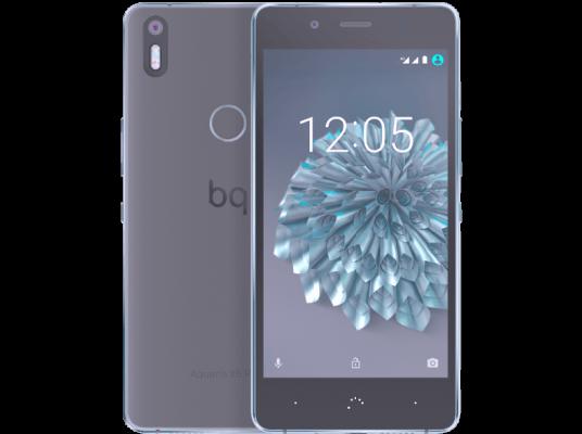 BQ Aquaris X5 Plus 32 GB Anthrazit Schwarz Dual SIM e1482661336275 BQ Aquaris X5 Plus   5 Zoll Full HD Smartphone mit 32GB für 229€
