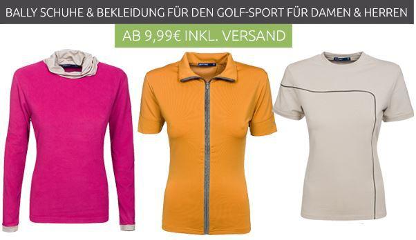 Bally Golf Schuhe und Bekleidung für Damen und Herren ab 9,99€