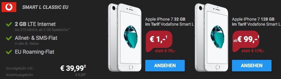 Bildschirmfoto 2016 12 02 um 17.47.17 Red Friday Deals bei Sparhandy   z.B. SMART L Classic mit 2 GB LTE, Allnet  & SMS Flat + iPhone 7 für 39,99€ mtl.