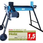 Güde W 520 / 5,5 T UG Kurzholzspalter für 189,95€ (statt 239€)