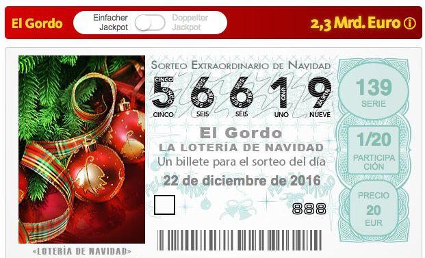 Bildschirmfoto 2016 12 07 um 11.37.46 1% Losanteil für die spanische Weihnachtslotterie + viele Extras für nur 0,99€   nur Lottoland Neukunden