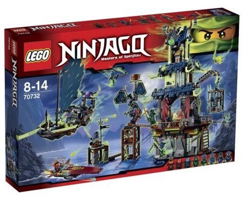 Lego Ninjago 70732   Die Stadt Stiix für 89,98€ (statt 100€)