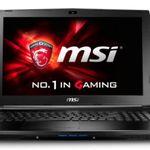 MSI GL62-6QFi58S2FD – 15 Zoll Full HD Gaming Notebook für 710€ (statt 851€)