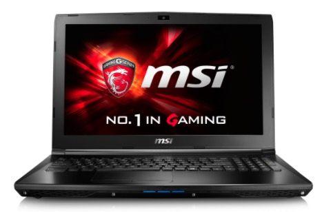 MSI GL62 6QFi58S2FD   15 Zoll Full HD Gaming Notebook für 710€ (statt 851€)