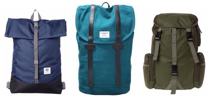 Taschen und Rucksack Sale in der Zalando Lounge   z.B. Sandqvist Tagesrucksack für 61€ (statt 100€)