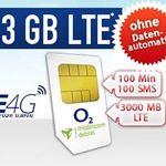 o2 Smart Light mit 3GB LTE + 100 Min + 100 SMS für 8,99€ mtl. – ohne Datenautomatik!