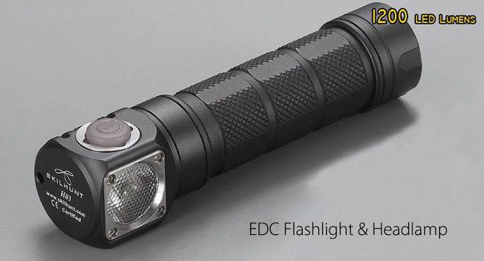 Skilhunt H03 Winkel Taschenlampe für 28,10€ (statt 38€)